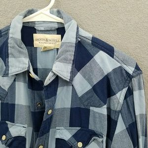 Ralph Lauren Denim Supply Snap Shirt